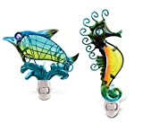 Puzzled Night Light Dolphin and Sea Horse