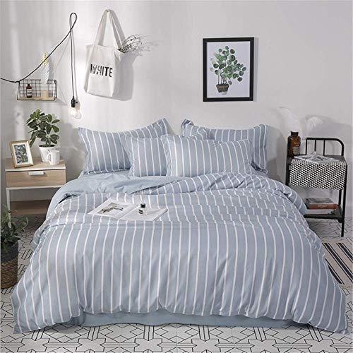 Luxury Bedding Set Queen Double King Size Duvet Cover Set Bed Linen Set F 220x240cm