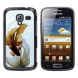 Paccase / SLIM PC / Aliminium Casa Carcasa Funda Case Cover - Goldfish Fish Tank Bowl Pet Yellow - Samsung Galaxy Ace 2 I8160 Ace II X S7560M