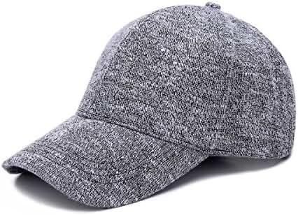 JOOWEN Knit Soft Plain Classic Hat Adjustable Baseball Cap