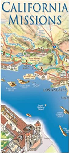 California Missions Map: East View Press: 9781879944145: Amazon.com on