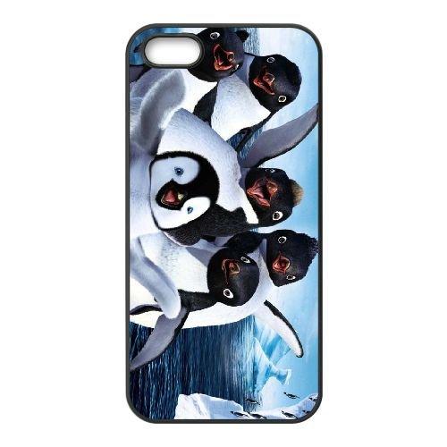 R5I51 pieds heureux L8C1FE coque iPhone 4 4s cellulaire cas de téléphone couvercle coque noire DF8ZEM1UP