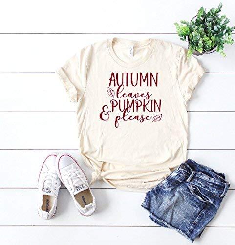cute women's t-shirt women's fall t-shirt cute women's shirt thanksgiving t-shirt hello fall tee cute fall outfit ()