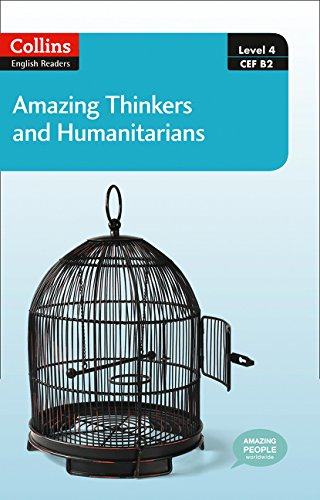 Download Collins Elt Readers ― Amazing Thinkers & Humanitarians (Level 4) (Collins English Readers) pdf