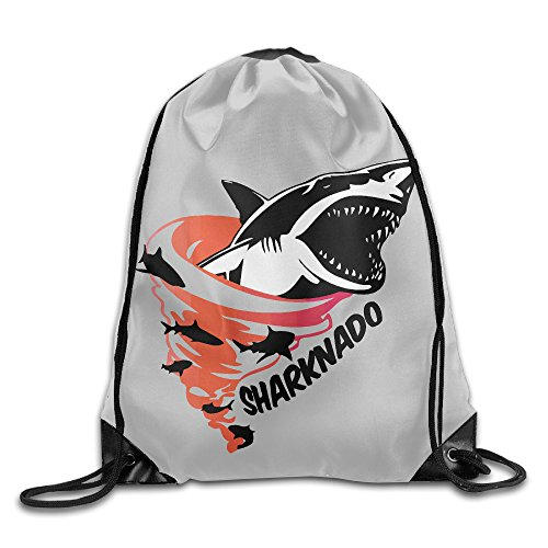 Sharknado Stylish Gym Bag Drawstring (Sharknado Fin)