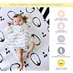 Pickle-Pumpkin-Fitted-Crib-Sheets-2-Pack100-Organic-Jersey-Cotton-Toddler-mattress-or-Standard-crib-mattress-sheets-Toddler-Bedding-Sheet-Set-for-Girls-Boys-Penguin-Woodland-Crib-Sheet