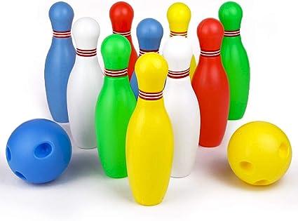 Symiu Juegos Bolos Infantiles Bowling Set Juegos Exterior Juguetes ...