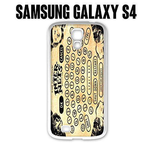 Phone Case Vintage Ouija Board Internets for Samsung Galaxy S4 Rubber White (Ships from CA)