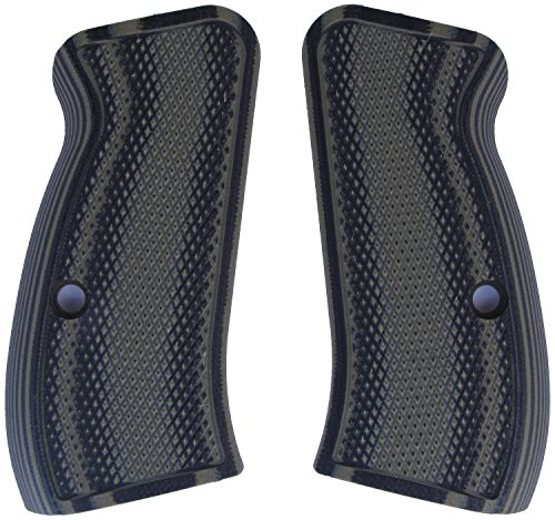 LOK Grips Checkered CZ 75 Compact Grips (OD Green/Black) ()