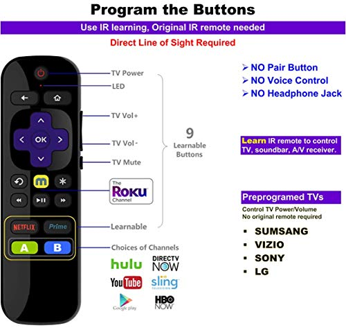 Buy universal remote for roku 3