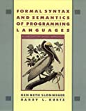 img - for Formal Syntax and Semantics of Programming Languages: A Laboratory Based Approach book / textbook / text book