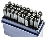 SE 942LS 2mm Letter Punch Set, 27-Piece