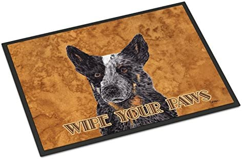 Caroline s Treasures Australian Cattle Dog Indoor or Outdoor Doormat, 24 x 36 , Multicolor
