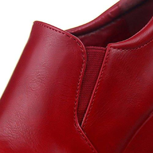Kile Hooh Boots Red Ankel Plattform Kvinners Uformelle gtq1Fv