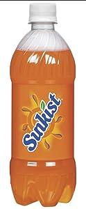 Sunkist Orange Soda, 20.0 Oz. Bottle (24 Count)