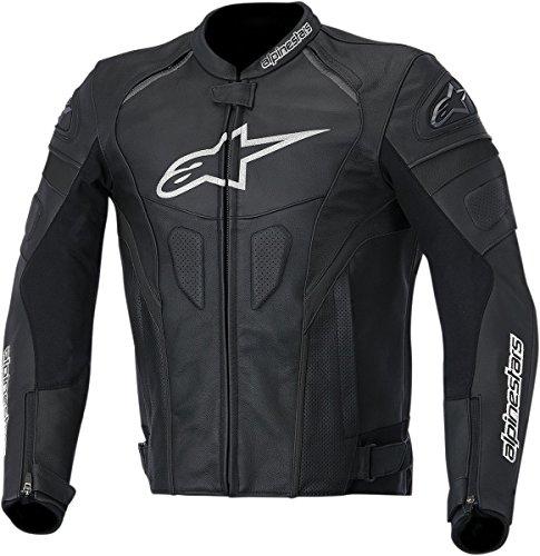Alpinestars Leather Riding Jacket Black