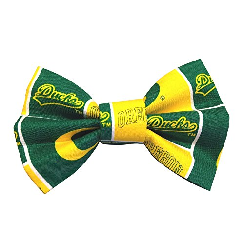 Ducks Limited Edition - Oregon Ducks Dog and Cat Bowtie (Small) LIMITED EDITION