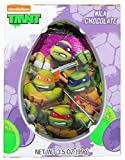 Nickelodeon Teenage Mutant Ninja Turtles Solid Milk Chocolate Easter Egg, 3.5 oz (TMNT)