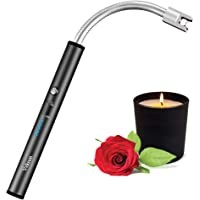 Tikysky Flexible Plasma Arc Long Neck Rechargeable USB Lighter