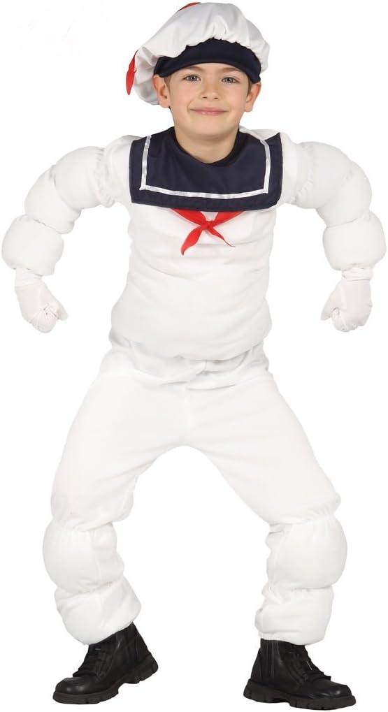 Disfraz de muñeco Michelin infantil mediano (5-6 años): Amazon.es ...