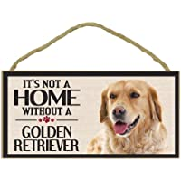 Imagine This Wood Sign for Golden Retriever Dog Breeds