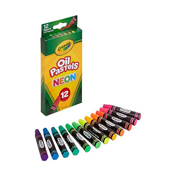 Crayola-Oil-Pastels-Assorted-Neon-Colors-Gift-for-Kids-Adults-12-Count