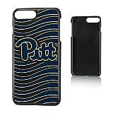 Keyscaper NCAA Pittsburgh Panthers U of P Wave Slim Case, iPhone 8 Plus/7 Plus/6 Plus, Black