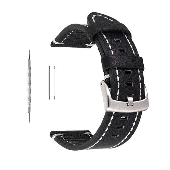 26443c1643a Berfine Soft Genuine Leather Watch Strap