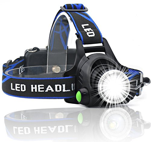 HeQiao Headlight Anti Sweat Rechargeable Light weight product image