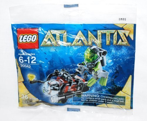 Lego Atlantis Mini Sub Polybag 30042