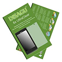 6x Ultra Clear Screen Protector for BLU Win JR LTE