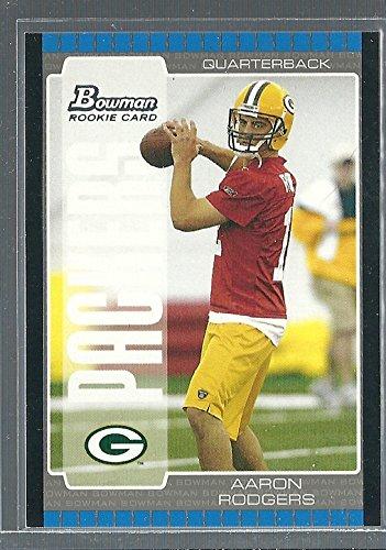 #112 Aaron Rodgers Rookie Card Green Bay Packers MVP HOF ()