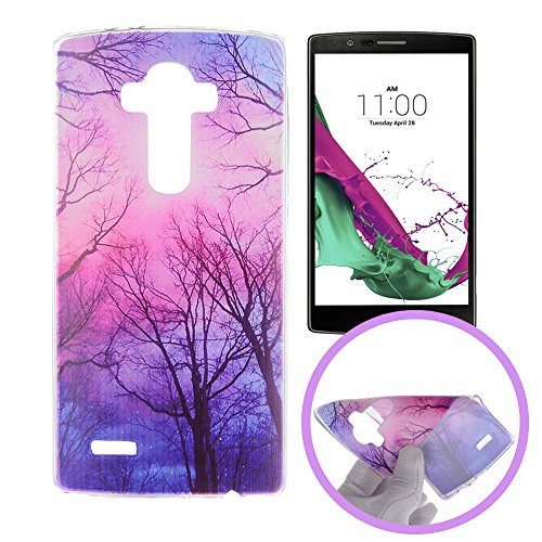 20 opinioni per Silingsan Custodia in Silicone per LG G4 Cover Gomma Gel TPU Soft Slim Case