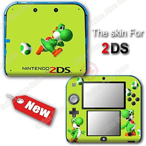 Yoshi 's New Island Lemon Edition Super Mario Skin Sticker for Nintendo 2DS