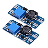 TOOGOO(R) 2pcs MT3608 DC-DC adjustable step-up power converter module for Arduino & More