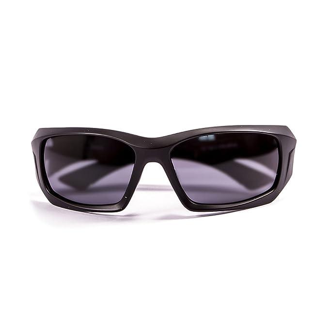 Ocean Sunglasses Antigua - lunettes de soleil polarisées - Monture : Noir Mat - Verres : Fumée (3300.0) 6Ery5Gg