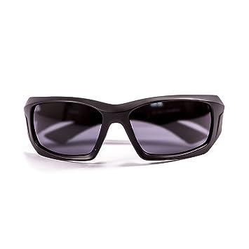Ocean Sunglasses Antigua - Gafas de Sol polarizadas - Montura : Negro Mate - Lentes : Ahumadas (3300.0): Amazon.es: Deportes y aire libre