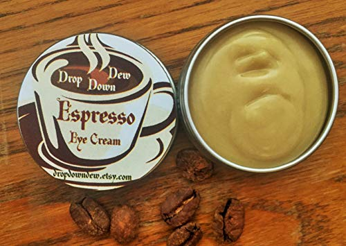 Espresso Eye Cream, Caffeine Eye Cream, Eye Brightener, Dark Circle Reducer, 1/2 -