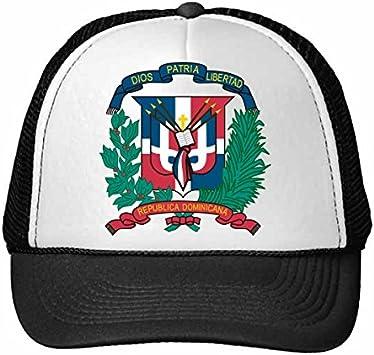 DIYthinker Nylon Gorra de béisbol República Dominicana Emblema ...