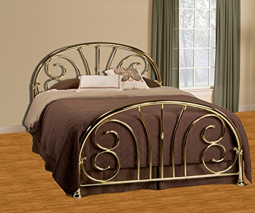 Hillsdale Jackson Elegant Scrollwork Bed, Full, No Bed Frame