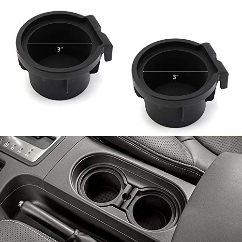 2 Cup Holder Inserts for 2005-2019 Nissan Frontier 2005-2012 Pathfinder 2005-2015 Xterra Cup Holders 96975-EA000 96975-ZS00A