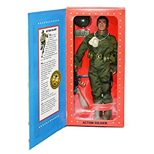Gi Joe Action Soldier Masterpiece Edition Delux Book and Reproduction 1964 Gi Joe Vol 1 red hair chronicle books