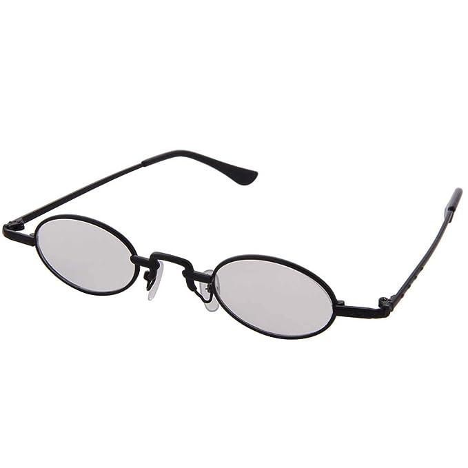 Amazon.com: OGOBVCK - Gafas de sol ovaladas pequeñas con ...
