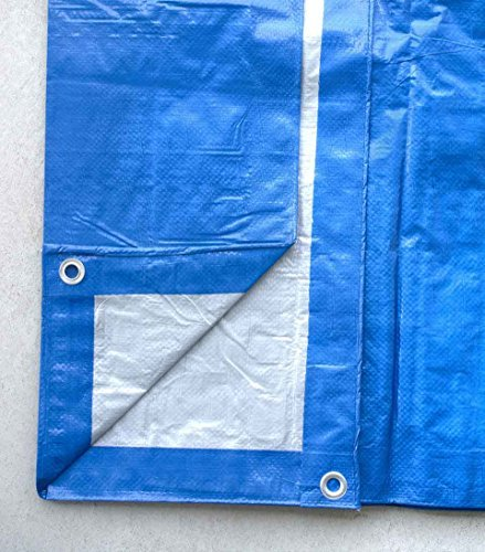 12-foot-by-24-foot-blue-and-silver-reversible-multi-purpose-water-resistant-poly-tarp-cover-for-tents-and-weather-protection