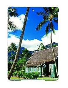 [9e95e984558] - New Waioli Huiia Church, Hanalei, Kauai, Hawaii Protective Ipad Air Classic Hardshell Case