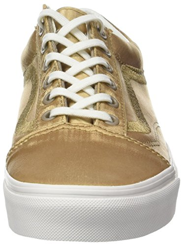 Vans Old Skool DX, Sneaker Donna Oro (California Souvenir/ Greige/Blanc De Blanc)