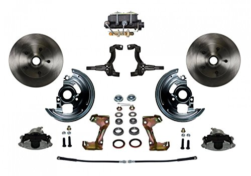(GPS Automotive FC1002-381 - Manal Conversion Kit with Cast Iron M/C Disc/Drum Bottom Mount)