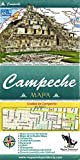 Campeche, Mexico, State and Major Cities Map (Spanish Edition)