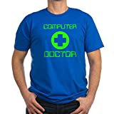 CafePress - Computer Doctor - Men's Fitted T-Shirt, Stylish Printed Vintage Fit T-Shirt