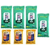Clorox Disinfecting Wipes (7 Packs) Travel Size, 4 Fresh Scent Packages & 3